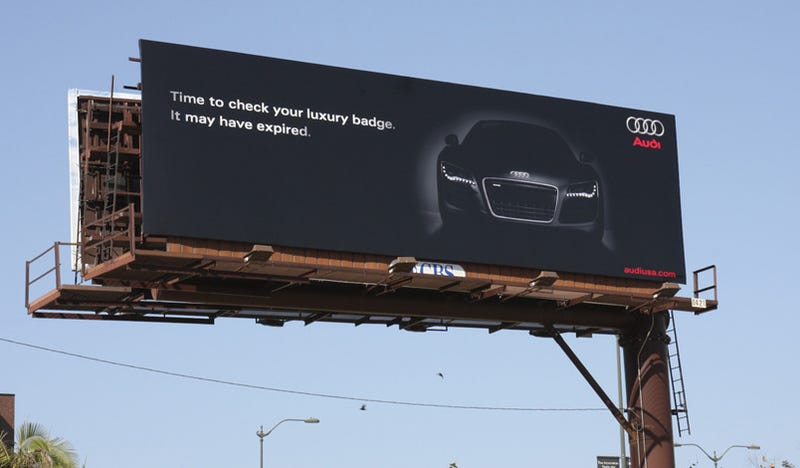 BMW Vs. Audi: Audi Responds With Another Billboard Salvo!