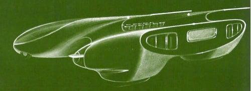 Luigi Colani's Sawed-Off Miura Le Mans Prototype