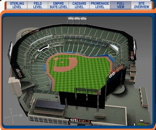 Seats3D Shows You the View Before You Buy Tickets