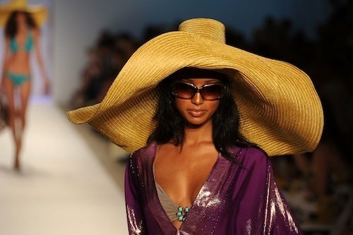 A Stylish Beach Hat That You Will Never, Ever Get In Your Suitcase