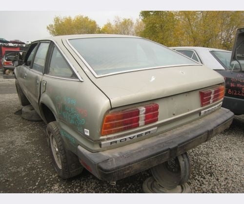 Somehow, 1980 Rover SD1 Evades The Crusher For 29 Years