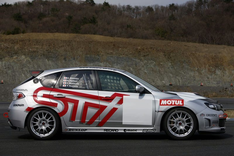 Subaru Impreza WRX STI Takes On Nurburgring 24 Hours