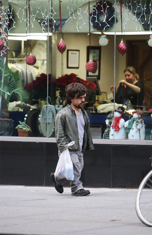Christmas Decorations Do Not Sway Peter Dinklage