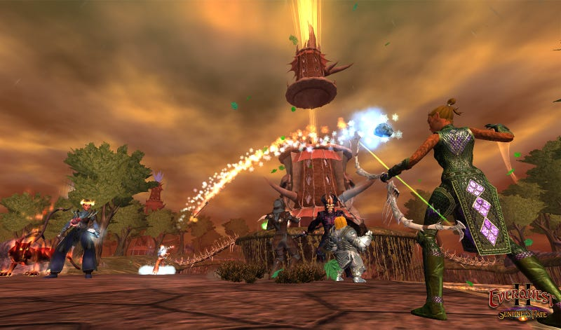 Everquest II Sees a 300% Surge in New Players After Going Free-to-Play