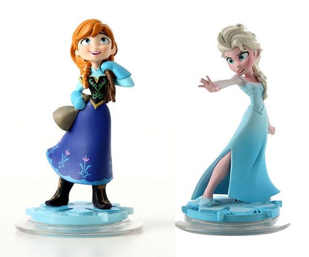Wreck It Ralph Rapunzel And Frozen Disney Infinity Toys