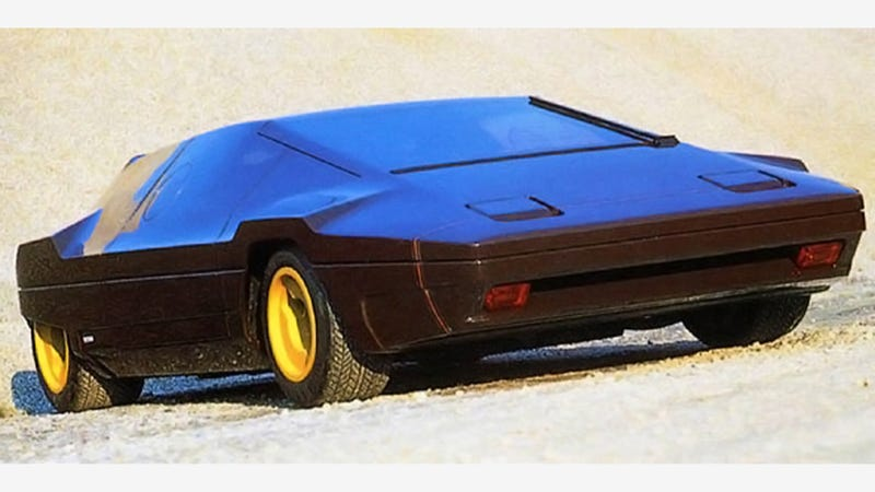 The Lancia Sibilo Was Nuts Even By 1970s Concept Car Standards