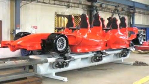 Ferrari World Abu Dhabi's Roller Coaster Gives You Wings