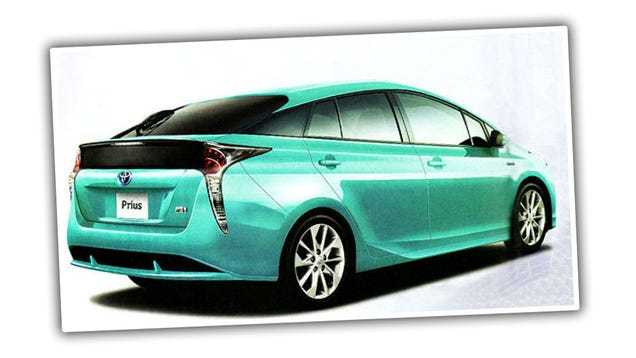 Is This The 2016 Toyota Prius?