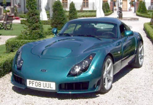 TVR Reveals Sagaris 2 Prototype, Sending Fender Vent Futures Up Sharply On Early Morning Trading