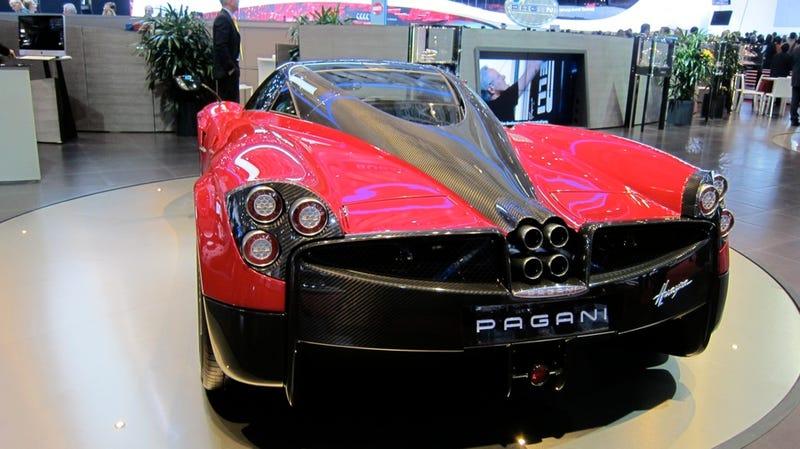 The 235 mph Pagani Huayra will make you heave with joy