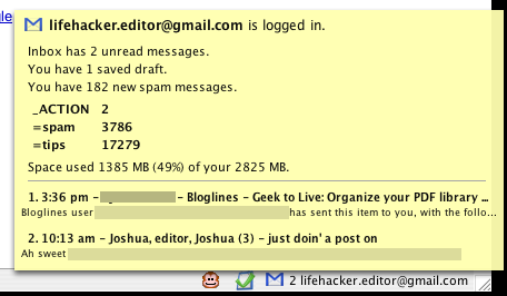 Download of the Day: Gmail Manager (Firefox)