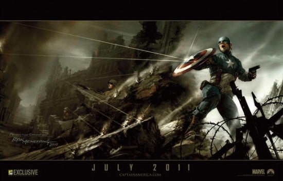 Marvel releases glorious concept art posters for Captain America and Thor