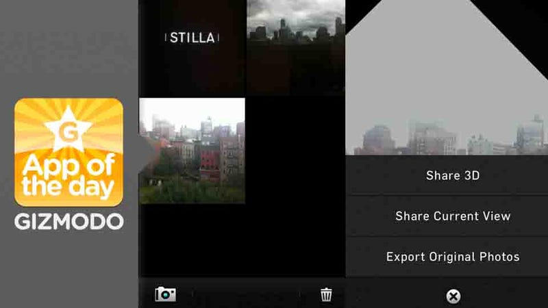 Stilla: Easily Build Beautiful, 3D Pictures Using the iPhone's Gyroscope