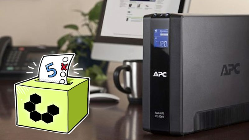 Five Best Battery Backups/UPS Units