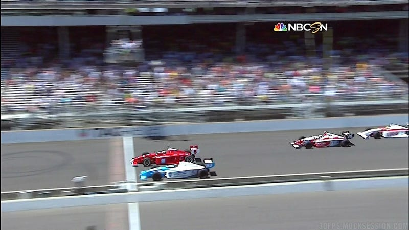 Check Out This Amazingly Close Finish For IndyLights