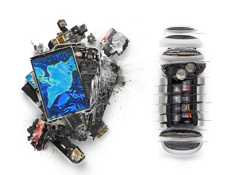 Apple Products Get Chopped, Shot, Smashed, and Burned
