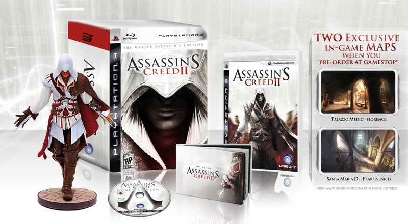 What Are Assassin's Creed II's Exclusive Maps For? [UPDATE]
