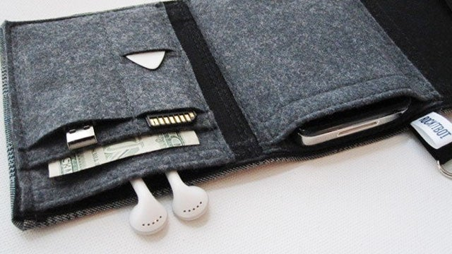 Nerd Herder Wallets Store Your Money and Your Gadgets