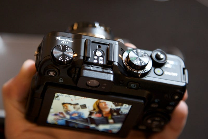 Hands On Canon's Other New Digital Cameras: Man, the G11 Is Huge