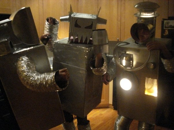 Robots Turn on Humans, A Photo Essay by Robots for Robots