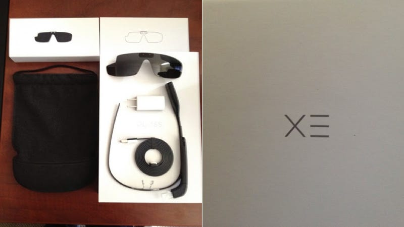 Here's What's Inside Google Glass' Box