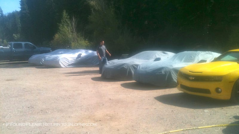Corvette Spy Shots