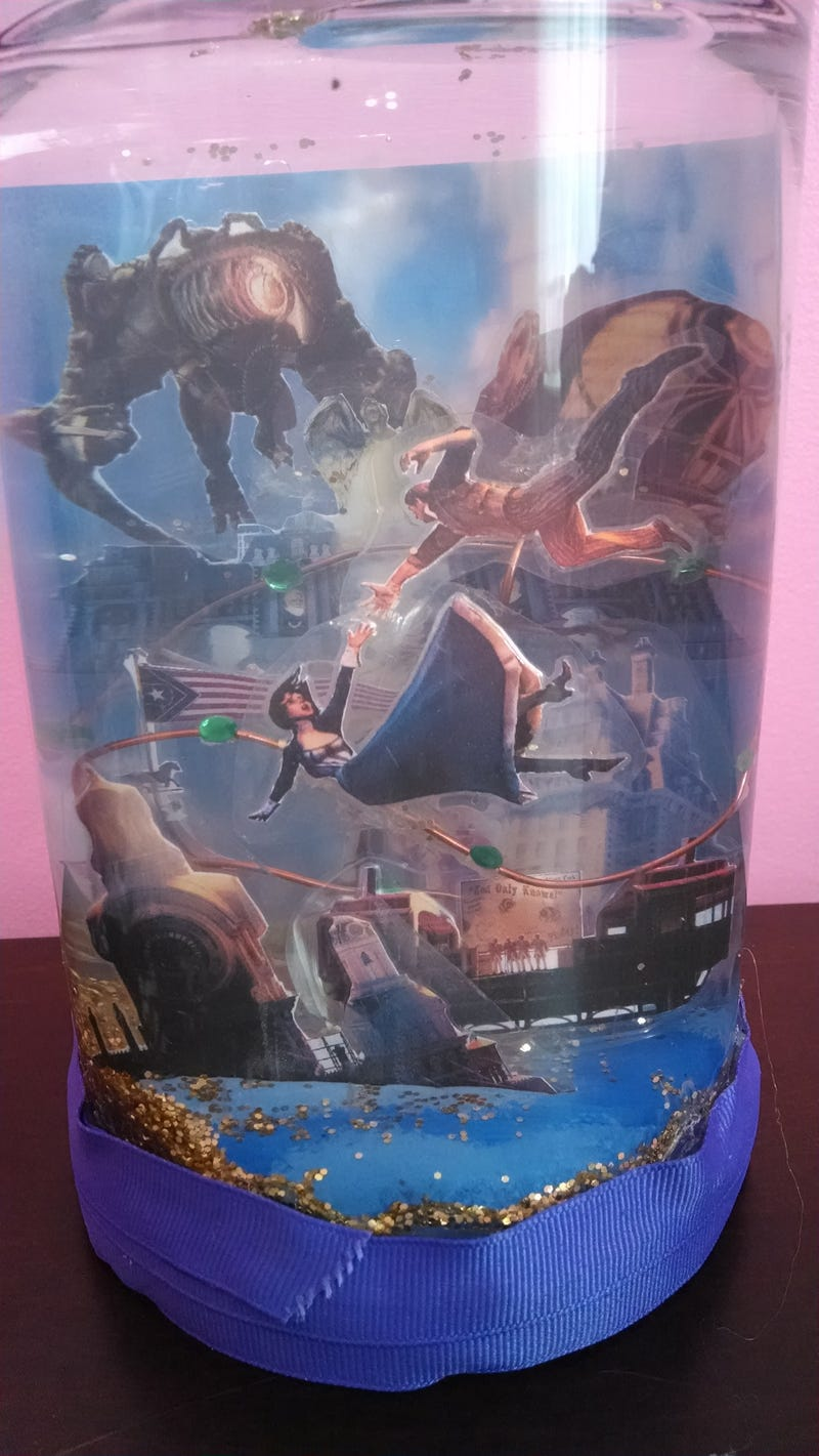 Bioshock Infinite Caged Snowglobe