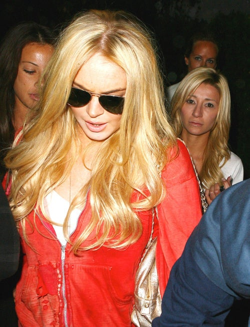 Lindsay Lohan Is Blonde Again, and Other Thrills
