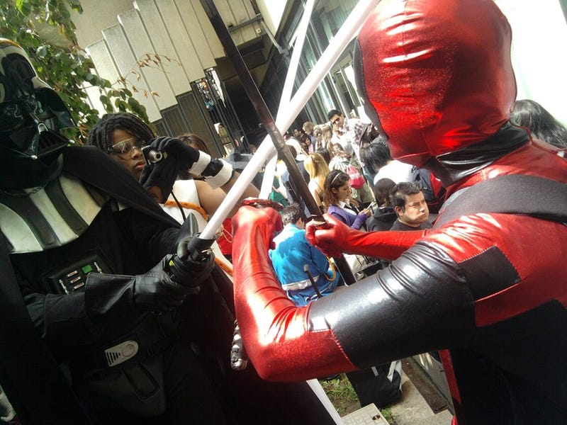 Who would win in a fight: Darth Vader, or Deadpool?