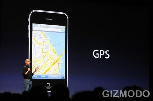 iPhone 3G Unveiled With Real GPS