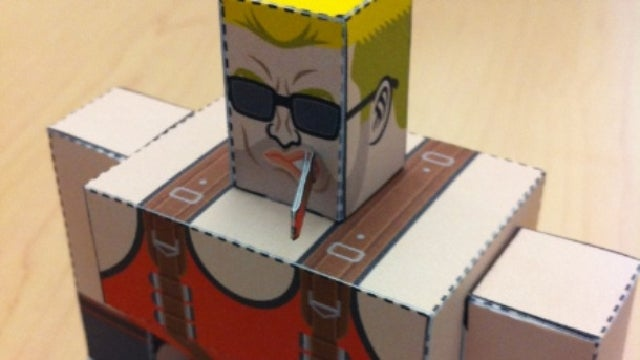 "DIY Papercraft Steve Jobs: Enact Your ""One more thing..."" Fantasy"