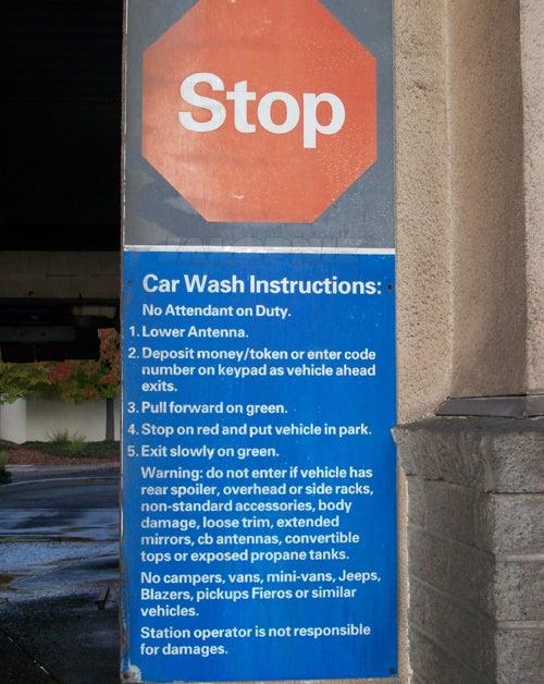 California Car Wash Hates Pontiac Fieros