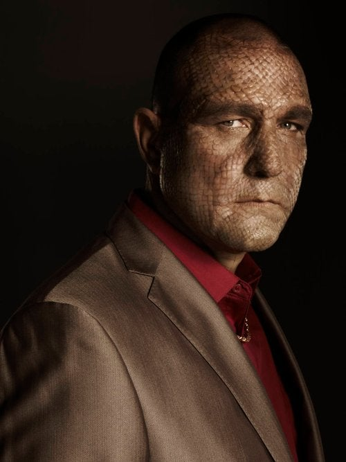 Crazy new villain portraits raise our expectations for superhero show The Cape