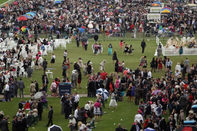 "Ladies Day At ""The Queen's Favourite Racing Event"" Featured Brawls, Call Girls, Face Tattoos And £98 Bottles Of Champagne"