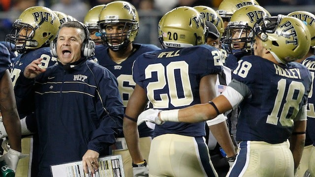 Pitt's Football Coach Told His Players He Quit Via A Forwarded Text Message [UPDATE]