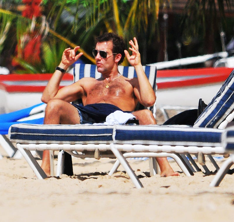 (Shirtless) Clive Owen Is Saving You A Seat