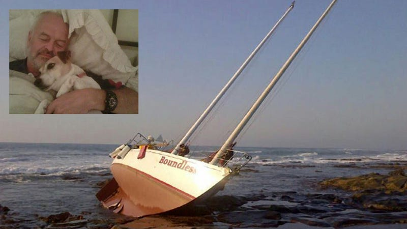 Man Saves His Dog from Sinking Yacht, Then Comes Back for Wife