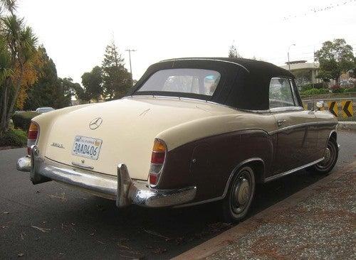 1959 Mercedes-Benz 220S Convertible