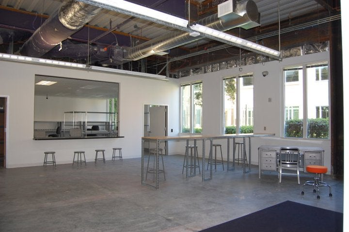 Photos From Inside Facebook's New Lair