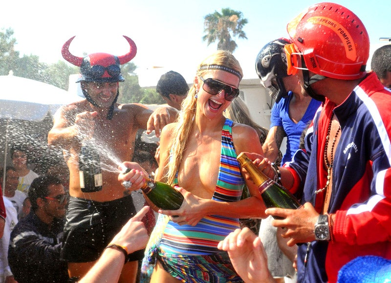 How Much Is Paris Hilton Getting Paid to Party in St. Tropez?