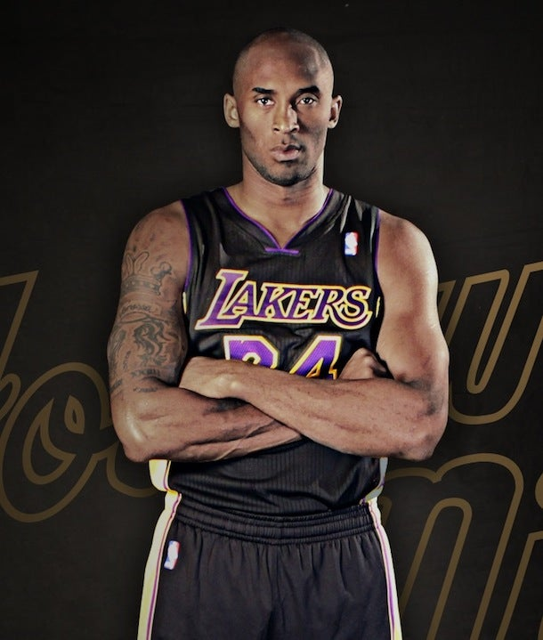 The Lakers Unveiled Their Black Jerseys