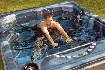 AquaCiser Either World's Deepest Hot Tub or Sinking Row-Boat Simulator