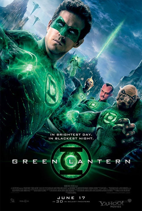 Does the Green Lantern movie introduce too many zany creatures?