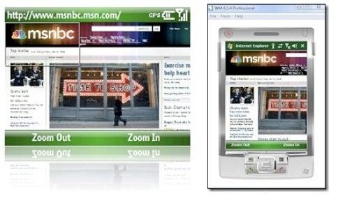 Internet Explorer Mobile 6 Available in Free Emulator (Verdict: Not Horrible)