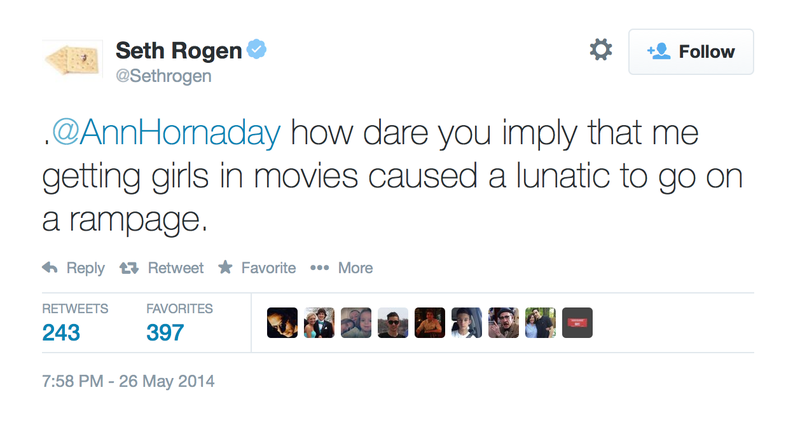 Seth Rogen Is Not Pleased with Washington Post Critic Ann Hornaday