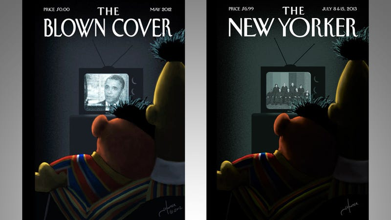 That Bert & Ernie New Yorker Cover Has Been on the Internet for a Year