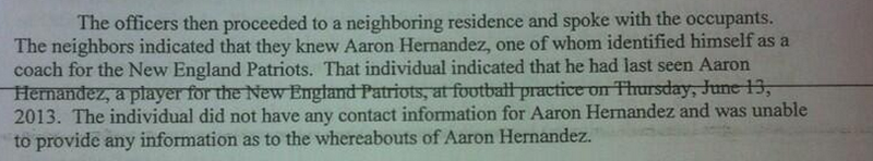 What Did Police Find In Aaron Hernandez's Home?