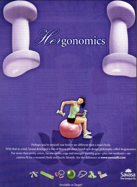 """HERgonomics"": For Women Who Can't Operate Regular Dumbells"