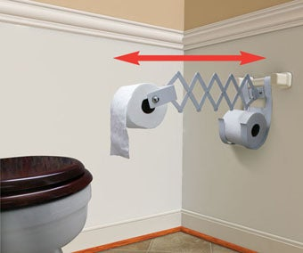 Extending Toilet Paper For People Too Lazy to Reach