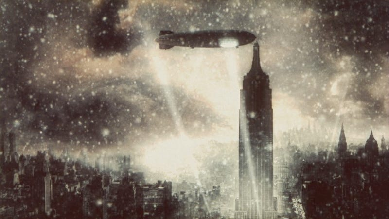 A Zeppelin Never Docked On The Empire State Building